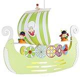 Elobra Pendelleuchte Wikingerschiff, 1 flammig ELO-125700