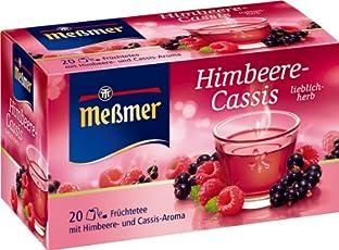 Meßmer Himbeere-Cassis 20 TB, 2er Pack (2 x 50 g Packung)