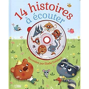 14 Histoires à écouter (Livre -CD) - dès 2 ans