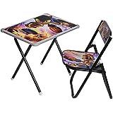 Archana Black colour study table and chair