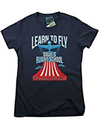 FOO FIGHTERS Dave Grohl Learn To Fly inspired, Women's T-Shirt