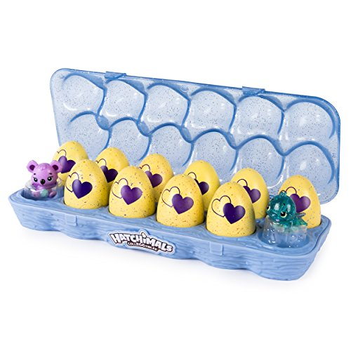 Spin Master Hatchimals CollEGGtibles Egg Carton 12 Pack - Season 3 Niño/Niña - Kits de Figuras de Juguete para Niños (5 Año(s), Niño/Niña, Multicolor, China, 235 mm, 96,5 mm)