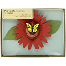 Paper Blossoms Pop-Up Notecards by Ray Marshall (1-Apr-2013) Card Book