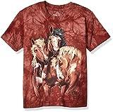 The Mountain La montaña niños Encontrar 8Caballos T-Shirt