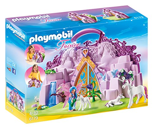 Playmobil 6179 Take Along Fairy Unicorn Garden