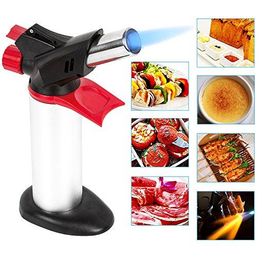 ButangasbrennerFlammbierbrennerKüchenbrennerButangasbrennerbis zu 1300°C für Creme Brulee Desserts, Home Küche, BBQ-Grille