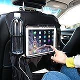 Auto Rückenlehnenschutz und Kinder Rücksitzschoner, Auto Rücksitz Organizer, Wasserdicht Autositztasche Sitzabdeckung (1 Stück)