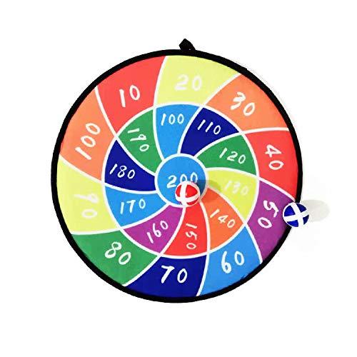 LLLucky Boomerang ABS Dart Für Kid Kinder Spielzeug Fliegende Spielzeug Stoff Dartscheibe Set Kid Ball Ziel Spiel Werfen Sport