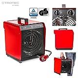 TROTEC 1410000087 TDS 50 E Elektroheizgebläse  schwarz/rot