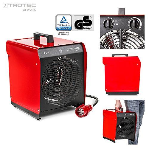TROTEC 1410000087 TDS 50 E Elektroheizgebläse (max. 9 kW)...