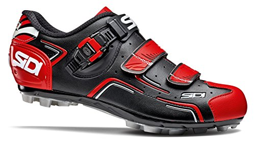 Sidi MTB Buvel Fahrradschuhe Herren black/red 2017 Mountainbike-Schuhe