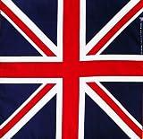 Top Trenz - Great Britain Union Jack Flag Head Scarf Band Bandana