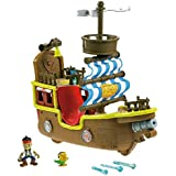 Fisher Price - X8483 - Figurine - Bucky - Le Bateau Musical de Jake - Jake et les Pirates