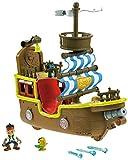 Fisher Price X8483 Jake y los piratas de Nunca Jamás - Bucky, barco musical [Audio Frances]