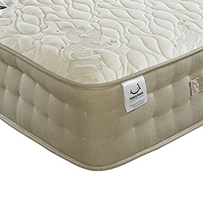 Happy Beds Milk Vitality 2000 Pocket Sprung Latex Memory Foam Mattress - inexpensive UK light store.