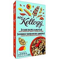 Kellogg's Crunchy Muesli sans Sucres Ajoutés Abricot 400 g