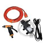 Portable Car Wash Set Pulvérisateur de Voiture 60 W Haute Pression Auto-amorçante Lavage Électrique Laveuse Kit Pompe à Eau 12 V