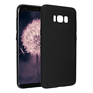 Asnlove Galaxy S8 Plus Case, Galaxy S8 Plus Cover, Hard PC Bumper Back Case Cover Shell Phone Skin Super Slim Protective Case with Breathable Air-Mesh Design for Samsung Galaxy S8 Plus (6.2