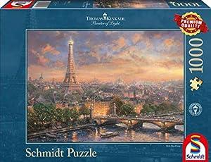 Schmidt Spiele 59470 1000pieza(s) Puzzle - Rompecabezas (Jigsaw Puzzle, Ciudad, 693 mm, 493 mm, 372 mm, 272 mm)