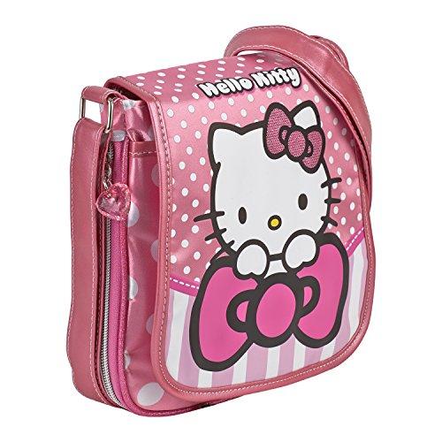 Hello Kitty-45653-Borsa verticale con libro