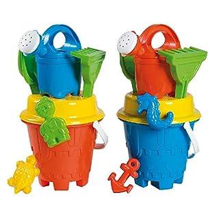 Androni Giocattoli S.R.L. Uni Bucket Castle (6-Piece, Set of 15)