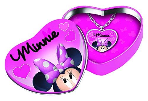 Joy Toy 71292Minnie Collier avec un pendentif coeur en forme Boîte