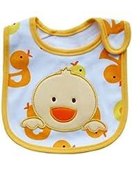 Koly Lindo babero de bebé - Baby impermeable toalla de la saliva (B)