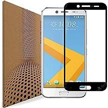 d7297ad5ee7 VLP Super Clarity HTC 10 Evo Pellicola Protettiva Vetro Temperato, Coprire  Schermo Intero Bordo Arrotondati