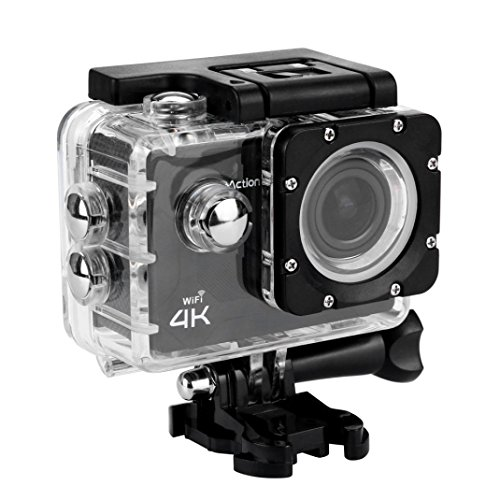 "VNEIRW Action Cam 4K Wasserdicht Sports Cam Wifi Crosstour Action Kamera Camcorder Unterwasserkamera Unterwasser Kamera Helmkamera Mit SD-Karte Full HD 1080P 2"" LCD 170° Weitwinkel (2.0 Zoll LCD, A)"