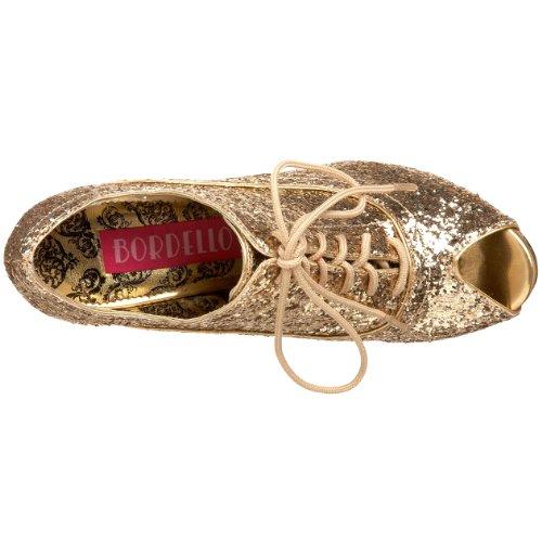 Bordello Ankle Boots Wink-01G gold Gold Gltr