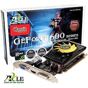 AXLE nVidia GeForce GT 610 Grafikkarte Low Profile (PCI-e, 2GB GDDR3 Speicher, Windows 7, DVI, VGA, HDMI)