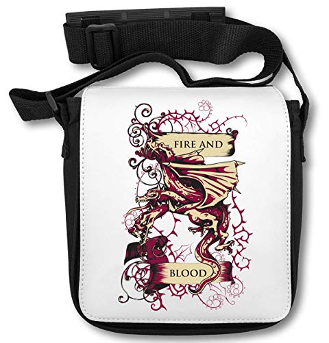 Fire and Blood Dragon Bolsa de Hombro