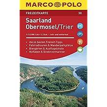 MARCO POLO Freizeitkarte Saarland, Obermosel, Trier