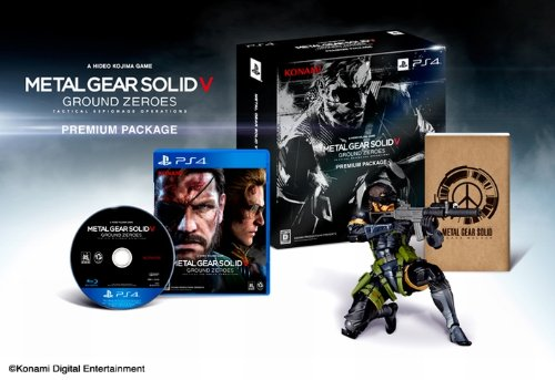 Metal Gear Solid V Ground Zeroes - Edition Limitée Amazon.co.jp [PS4]