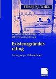 Existenzgründerrating: Rating junger Unternehmen