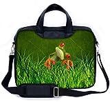 MySleeveDesign Laptoptasche Notebooktasche mit Tragegurt für 13,3 Zoll / 14 Zoll / 15,6 Zoll / 17,3 Zoll - VERSCH. DESIG