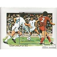 Camboya Bloque 187 compl.edición Juego Nuevo Con Goma Original 1992 Olímpicos