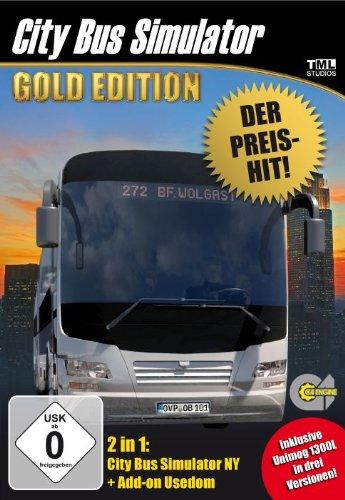 Preisvergleich Produktbild City Bus Simulator - Gold [Preis - Hit] - [PC]