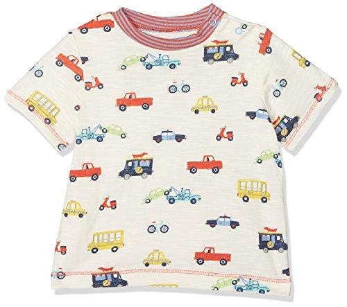 Hatley Baby-Jungen T-Shirt Mini Short Sleeve Graphic Tee, Grey (Rush Hour), 92 (Sleeve Baby-jungen-short Tee)
