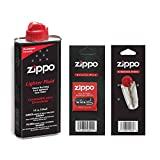 Zippo ZC FWF Fuel + Wick + Flint Combo