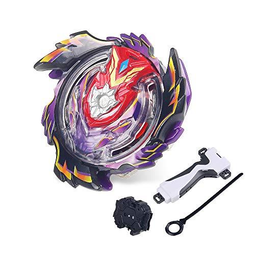 infinitoo Kampfkreisel 4D Fusion Modell Beschleunigungslauncher Speed Kreisel Kinder Spielzeug Mit Zieh-Sender - Kontinuierliche Auge