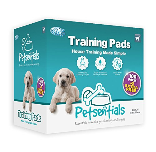 Petsentials Trainingsunterlagen / Pads, 105 Stück (Hund-pad-training)