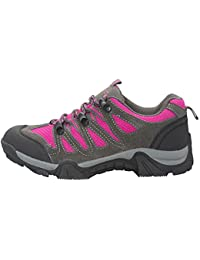 Mountain Warehouse Cannonball Kids Walking Shoes – All Season Childrens Shoes, Comfortable Hiking Shoes, Durable Outsole, Ankle Support – For Travelling, Camping