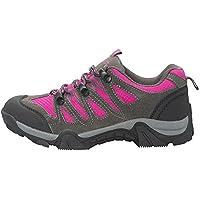 Mountain Warehouse Jungle Wanderschuhe für Herren - Leichte Laufschuhe, atmungsaktiv, weich, bequem, flexible Fitnessschuhe - Ideal für Wandern und Trekking Blau 41