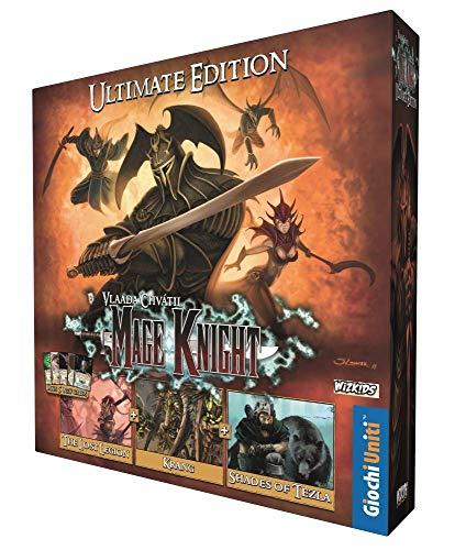 Giochi Uniti Mage Knight-Ultimate Edition Die Version von MK mit Allen Erweiterungen, Mehrfarbig, 1