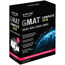 GMAT Complete 2018: The Ultimate in Comprehensive Self-Study for GMAT (Kaplan Test Prep)