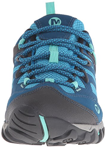 Merrell All Out Blaze Vent Waterproof Hiking Shoe Turquoise/Aqua