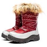 Botas De Nieve Calientes Zapatos Botas De Nieve Mujer, Botines para Adulto, Zapatillas/Zapatos De Invierno Calzado Calientes Antideslizantes Impermeab