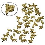 DUE ESSE Animali Pecore Beige cm.2x2 pz.48-965