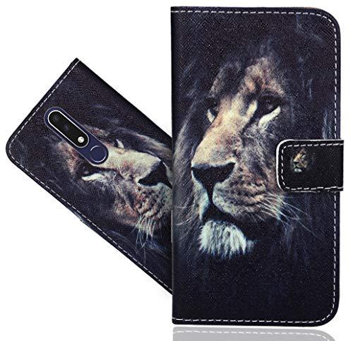 Nokia 3.1 Plus Handy Tasche, CaseExpert® Wallet Case Flip Cover Hüllen Etui Hülle Ledertasche Lederhülle Schutzhülle Für Nokia 3.1 Plus/Nokia X3